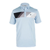 TRAVISMATHEW Men`s Fubar Tennis Polo Cashmere Blue