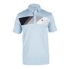 TRAVISMATHEW Men`s Fubar Tennis Polo Cashmere Blue
