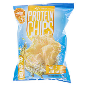 Salt and Vinegar Protein Chips