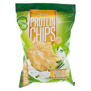 QUEST NUTRITION SOUR CREAM AND ONION PROTEIN CHIPS