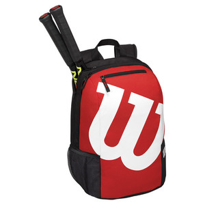 Match Tennis Backpack Black and Red