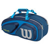 WILSON Tour V 6 Pack Tennis Bag Blue