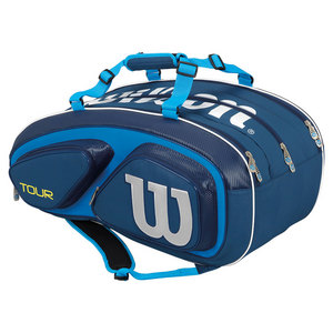 Tour V 15 Pack Tennis Bag Blue