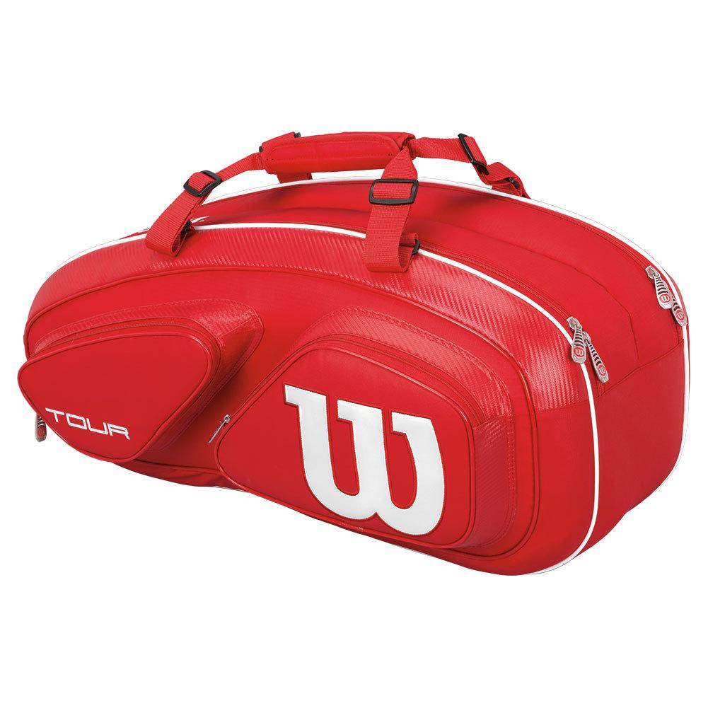 Tour V 6 Pack Tennis Bag Red
