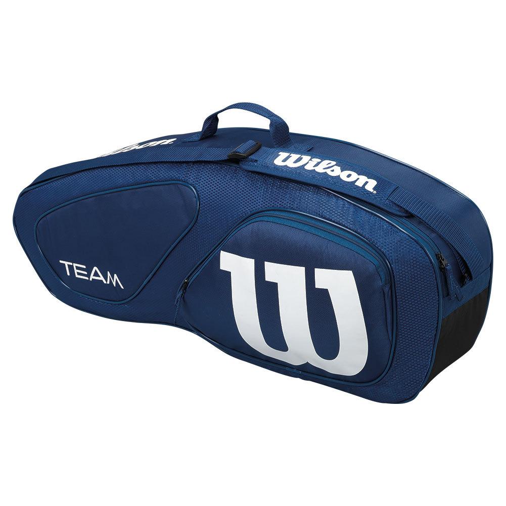 Team Ii Triple Pack Tennis Bag Navy