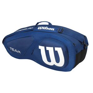 Team II 6 Pack Tennis Bag Navy