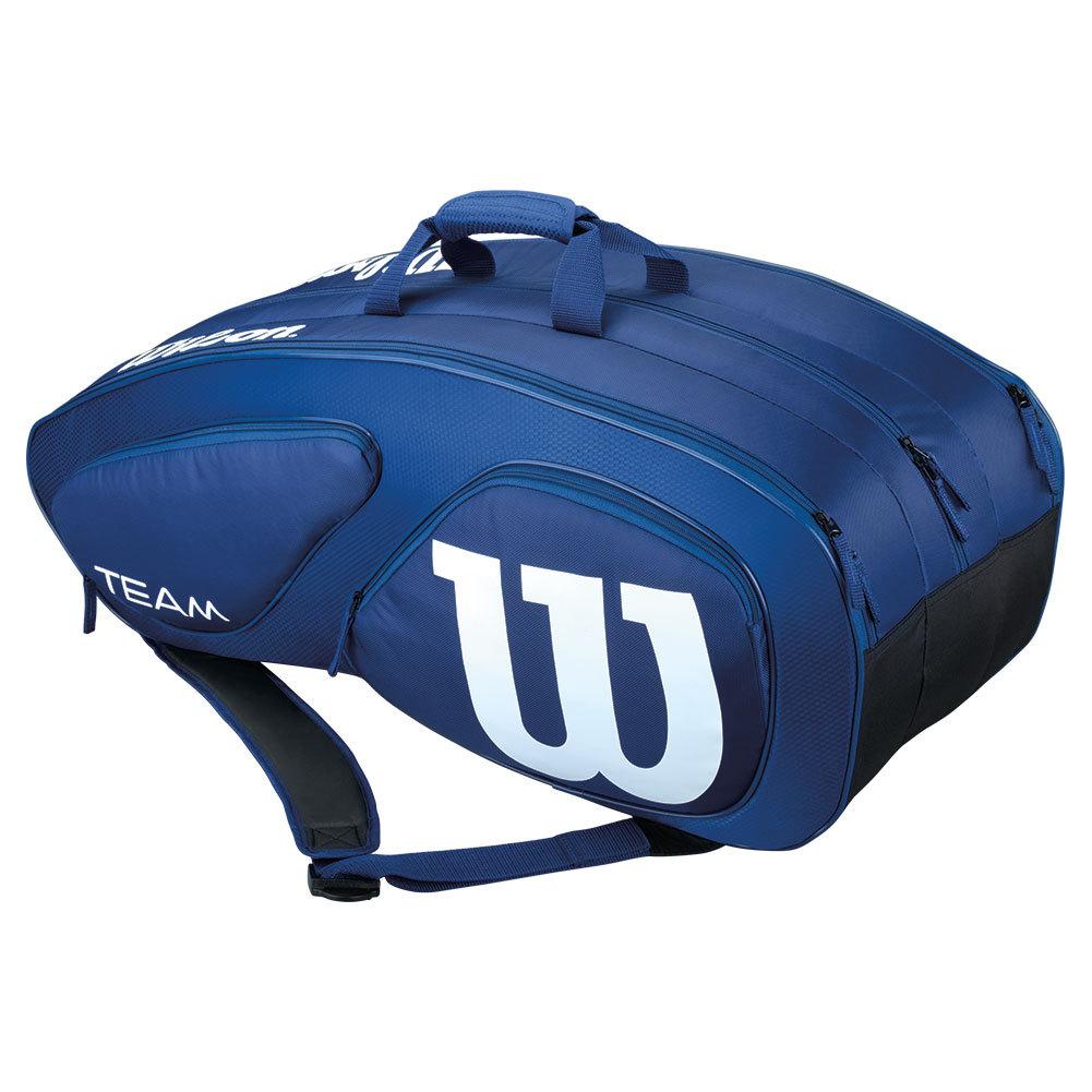 Team Ii 12 Pack Tennis Bag Navy