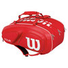 Tour V 15 Pack Tennis Bag Red by WILSON