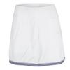 JOFIT Women`s Jacquard Banded Swing Tennis Skort White