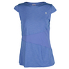 ELEVEN Women`s Slice of Life Tennis Top Wedgewood