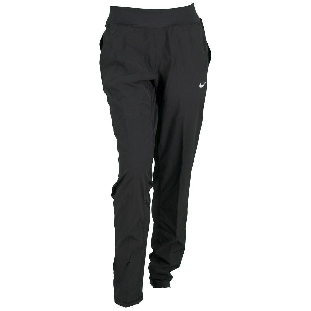 Women's Woven Tennis Pant Black
