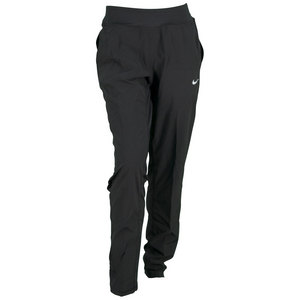 Women`s Woven Tennis Pant Black
