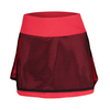 BOLLE Women`s Heat Wave 14 Inch Tennis Skort Bolle Red