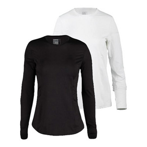 Women`s Long Sleeve SPF Tennis Crew