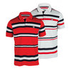 FILA Men`s Heritage Stripe Tennis Polo