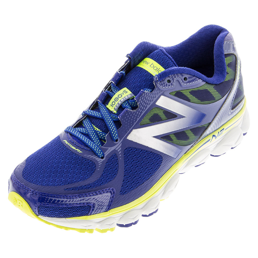 Women's 1080v5 Running Shoes Blue And Hi- Lite