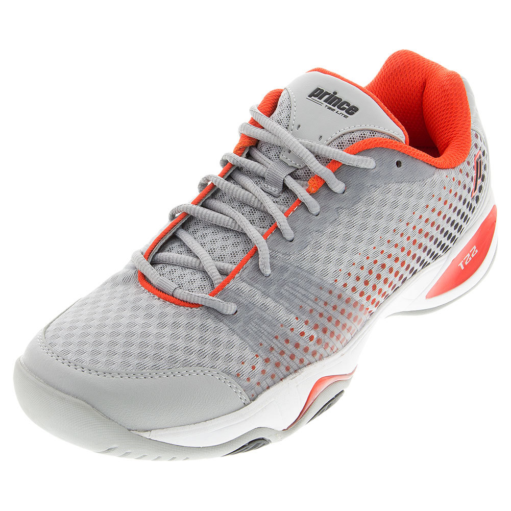 Men's T22 Lite Tennis Shoes Gray And Red