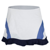 ELEVEN Women`s Colorblock It Out 12 Inch Tennis Skort White and Blue Nights