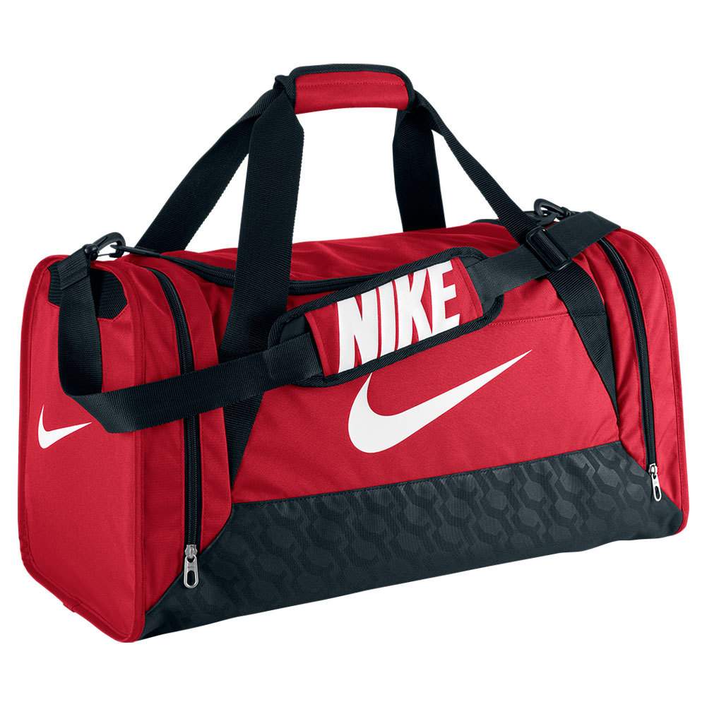 Brasilia 6 Medium Duffle Bag Gym Red