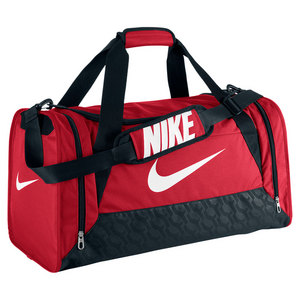 Brasilia 6 Medium Duffle Bag Gym Red