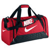 NIKE Brasilia 6 Medium Duffle Bag Gym Red