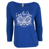 LOVEALL Women`s Love the Game Raglan Sleeve Tennis Top Royal