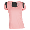 LUCKY IN LOVE Women`s Scoop Neck Tennis Cap Sleeve Lava