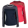 FILA Women`s Heritage Long Sleeve Tennis Top