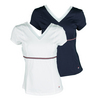 FILA Women`s Heritage V-Neck Tennis Top