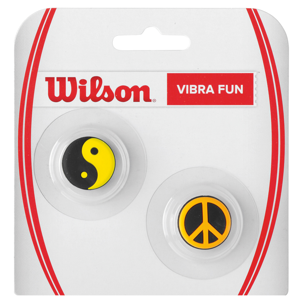 Vibra Fun Tennis Dampeners Peace and Yin Yang