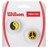 WILSON Vibra Fun Tennis Dampeners Peace and Yin Yang