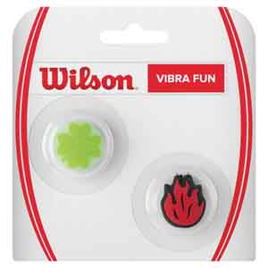 Vibra Fun Tennis Dampeners Clover and Fire