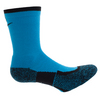 NIKE Elite Crew Tennis Socks Blue Lagoon and Black