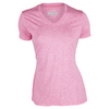 FILA Women`s Silky Heather V-Neck Tee