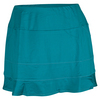 TAIL Women`s Nadine 13.5 Inch Tennis Skort Jeweled Emerald