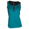 TAIL Women`s Marianna Tennis Tank Jeweled Emerald