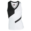 BOLLE Women`s Ebony and Ivory Tennis Tank White and Black