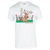 TENNIS EXPRESS Unisex Tennis Reindeer Tee White