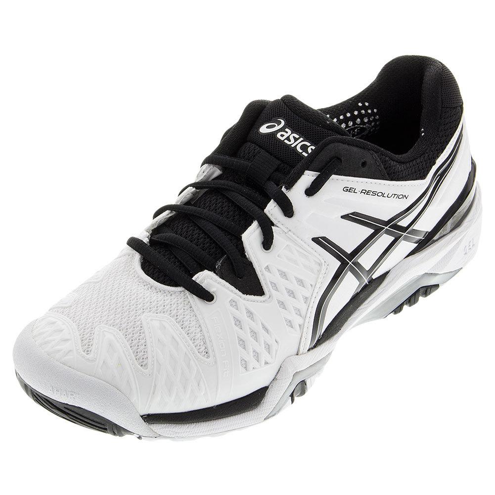 black asics tennis shoes