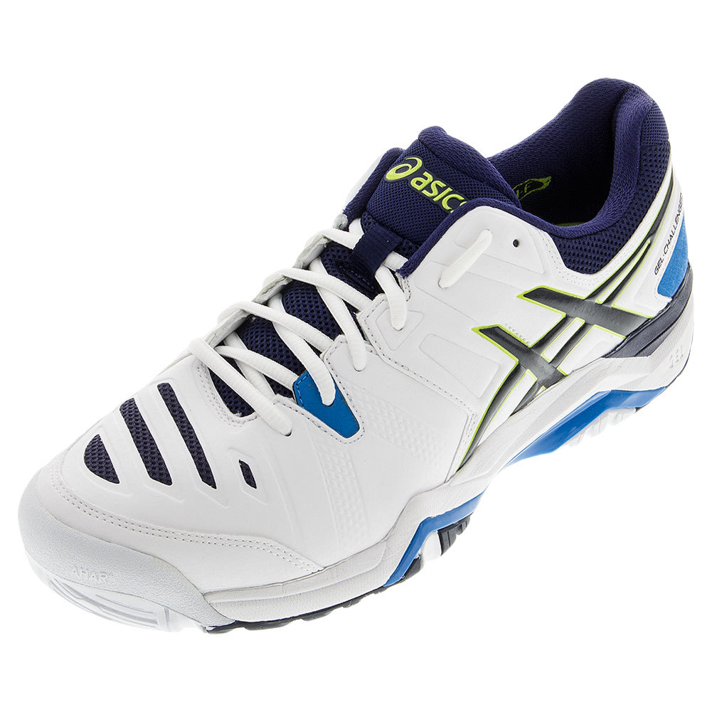 Men's Gel- Challenger 10 Tennis Shoes White And Lime