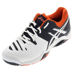 Men`s Gel-Challenger 10 Tennis Shoes White and Sky Captain
