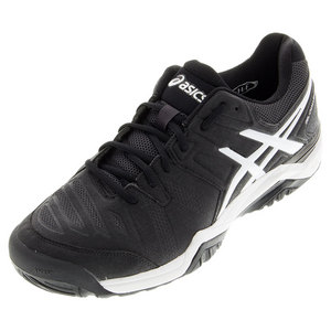 ASICS MENS GEL-CHALLGR 10 TNS SHOES BLACK/WHT