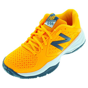 Juniors` 996v2 Australian Open Tennis Shoes Orange