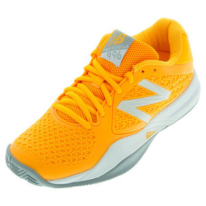 Women`s 996v2 Australian Open Tennis Shoes Orange and Gray