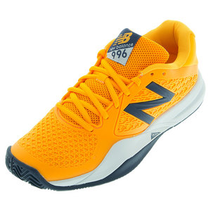 Men`s 996v2 Australian Open Tennis Shoes Orange and Gray