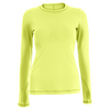 SOFIBELLA Women`s Sweet Pea Long Sleeve Tennis Top Electric
