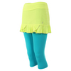SOFIBELLA Women`s Sweet Pea Abaza Tennis Skort Electric