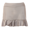 SOFIBELLA Women`s Sweet Pea 14 Inch Tennis Skort Metallic Ice