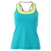SOFIBELLA Women`s Sweet Pea Racerback Tennis Tank Ultra Marine