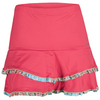 DENISE CRONWALL Women`s Deco Tennis Skort Red